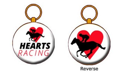 Hearts Racing Member Medallion